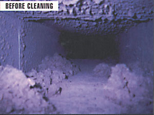 Duct, Before Cleaning